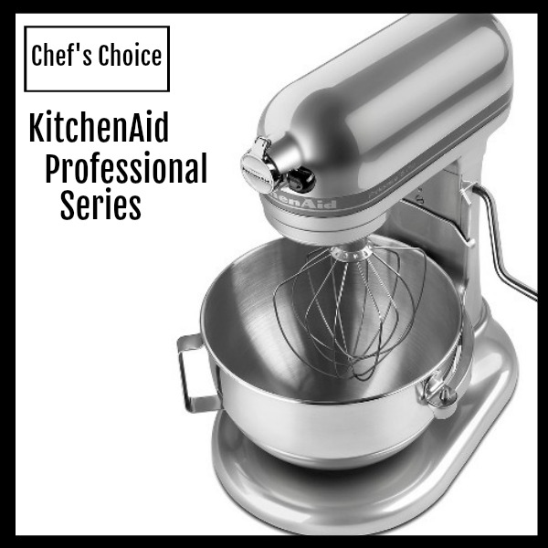 Chef's Choice for top Stand Mixer is the KitchenAid Professional 600 Series.